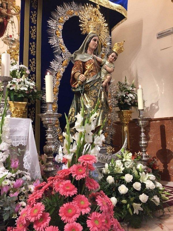 Ofrenda floral Virgen del Rosario 2017
