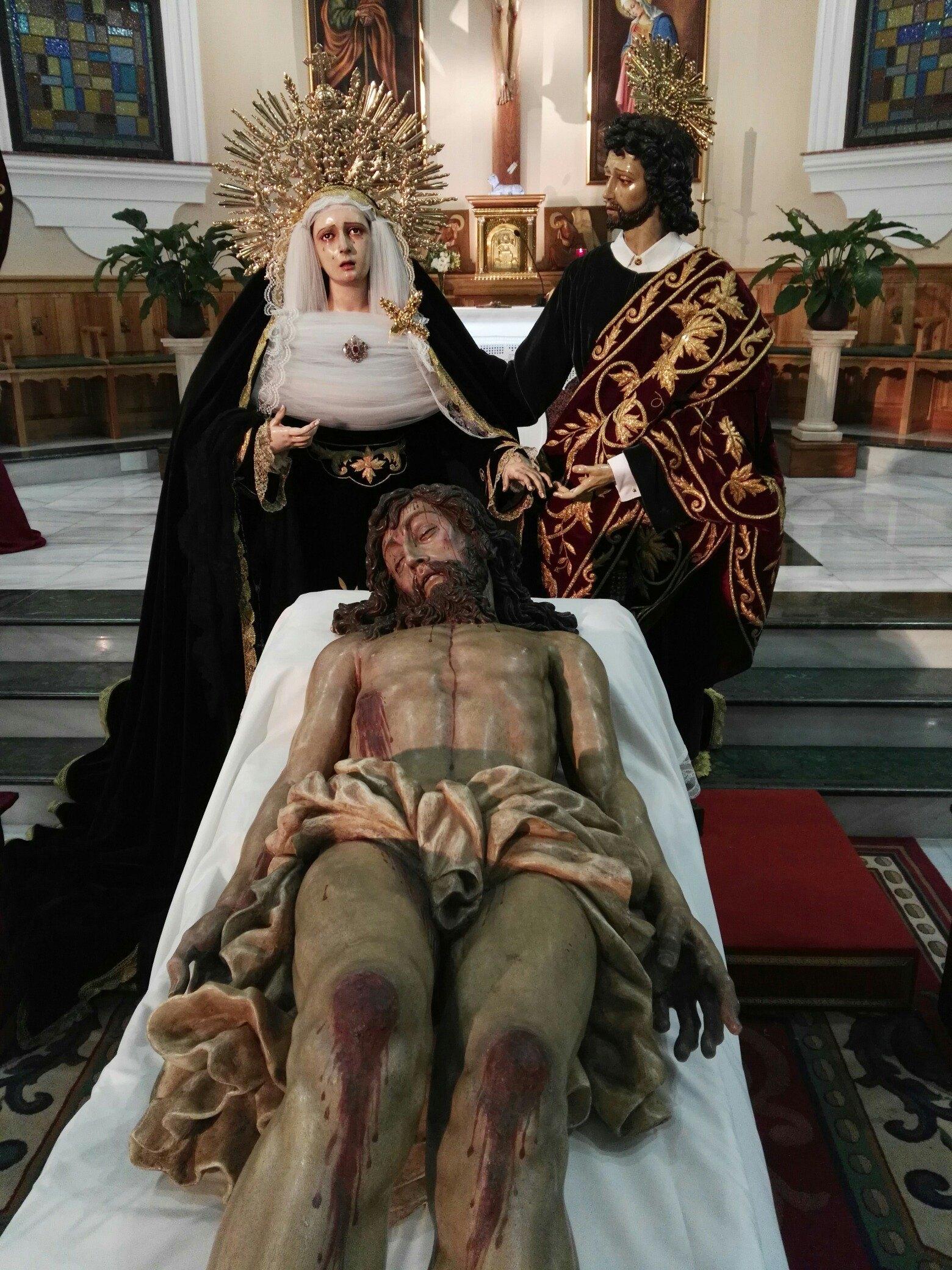 Acto bendición San Juan