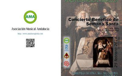 Concierto benéfico Asoc. Musical Andalucía