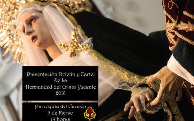 Presentación cartel y boletín Semana Santa 2018