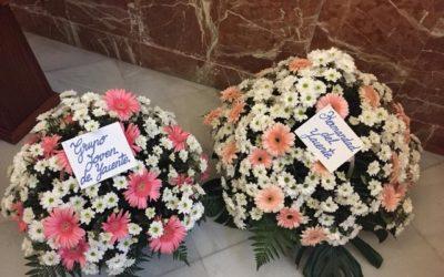 Ofrenda floral Virgen del Rosario